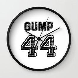 Gump. Football clothes Wall Clock