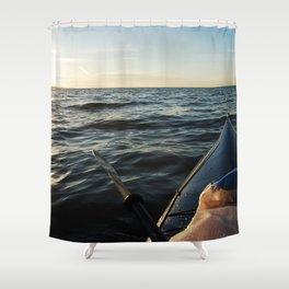 Kayaking Port Angeles Shower Curtain