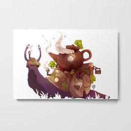 Tea house  Metal Print