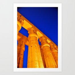 Luxor Temple Art Print