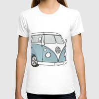 vw T-shirts featuring VW Camper by 1and9
