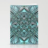 snowflake Stationery Cards featuring Snowflake by Lyle Hatch