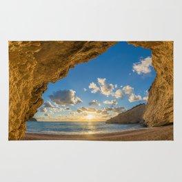 Porto Katsiki beach Rug