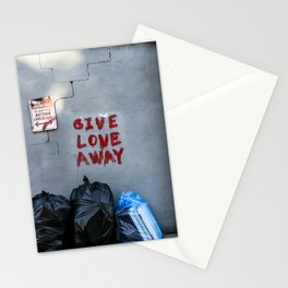 Give Love Away Stationery Cards