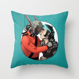 Comic Cover Throw Pillow