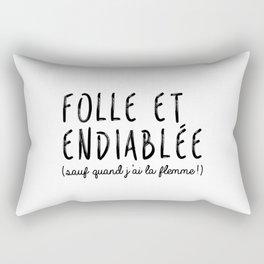 Folle & Endiablée Rectangular Pillow