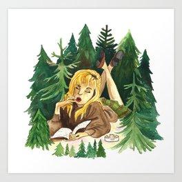 Twin Peaks Secret Diary of Laura Palmer Art Print