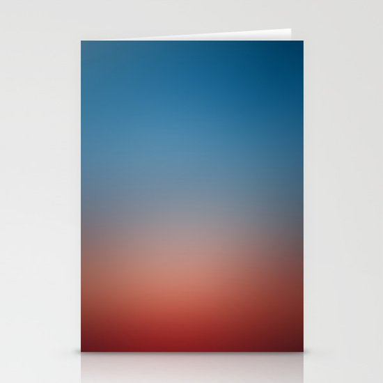 Sunset Gradient 5 Stationery Cards