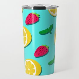 Fruit Party #society6 #decor #buyart Travel Mug
