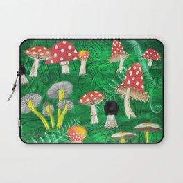 Mushroom Party Laptop Sleeve