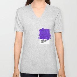 Pantone Ultra Violet 2018 Unisex V-Neck