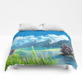Howls Moving Castle Comforters