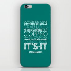 San Francisco — Delicious City Prints iPhone & iPod Skin
