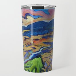 Fire Dragon, Pine Mtn. Travel Mug