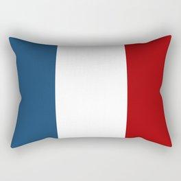 France: French Flag Rectangular Pillow