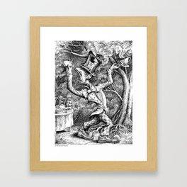 The Mad Hatter (Alice in Wonderland) Framed Art Print