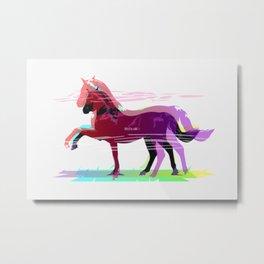 Horse PM Metal Print