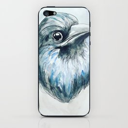 Magpie Portrait iPhone Skin