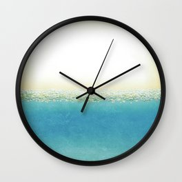 Vintage Beach (Or Memory of a Summer Day) Wall Clock