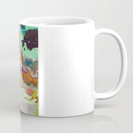 Golden Veins A Coffee Mug