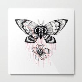 mothblossom Metal Print