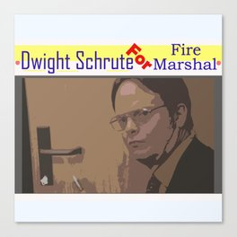 Fire Marshal Canvas Print