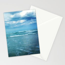 South Padre Island, TX - Stormy Weather Stationery Cards