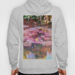 Water Lilies monet 1917 enhanced Hoody