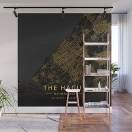 The Hague, Netherlands - Gold Wall Mural