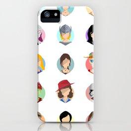 Heroines iPhone Case
