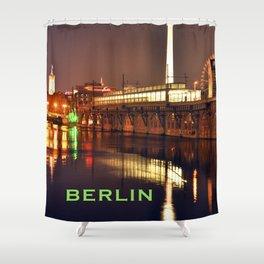 BERLIN NIGHT Shower Curtain