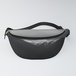 Don't stop / mountain photo art print / mountain poster Fanny Pack
