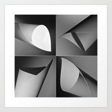 Paper quad Art Print