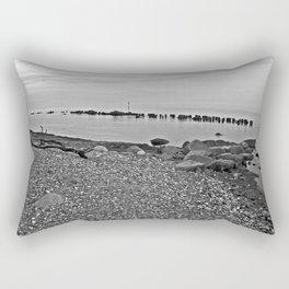 Silent Summer Moment on the Isle of Ruegen   Rectangular Pillow