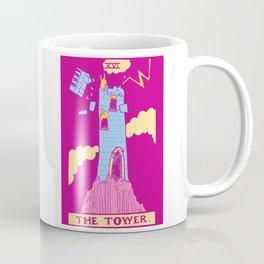 The Tower - A Femme Tarot Card Coffee Mug