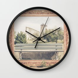 Into the frame BESANCON FRANCE Wall Clock