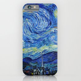 Van Gogh - Starry Night - High resolution iPhone Case