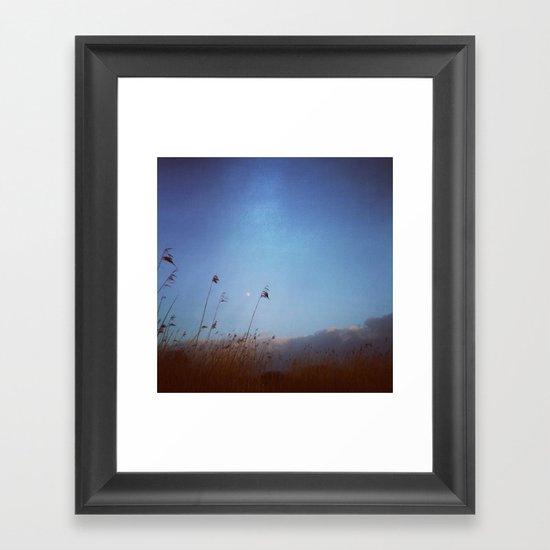 Moonage Framed Art Print