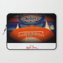 Ayrton Senna Tribute Design III Laptop Sleeve