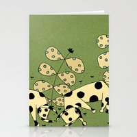 fight Stationery Cards featuring Fight by Tauno Erik