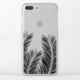 Clear Palm Skies Clear iPhone Case