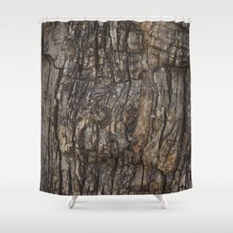 Bark VII Shower Curtain