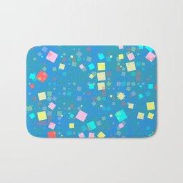 Squares mosaic Bath Mat