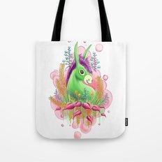 Green donkey Tote Bag