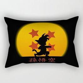 Young Saiyan Warrior V2 Rectangular Pillow