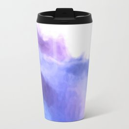 Purple Sky, White Light - abstract Travel Mug