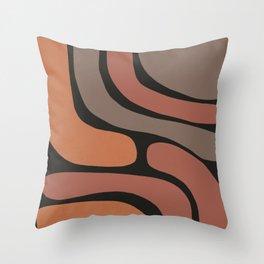 Shape Study V Throw Pillow