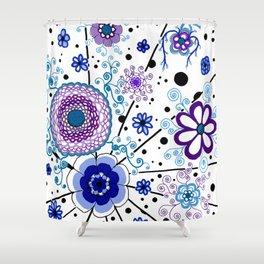 Ka-BLUE-ie! Shower Curtain