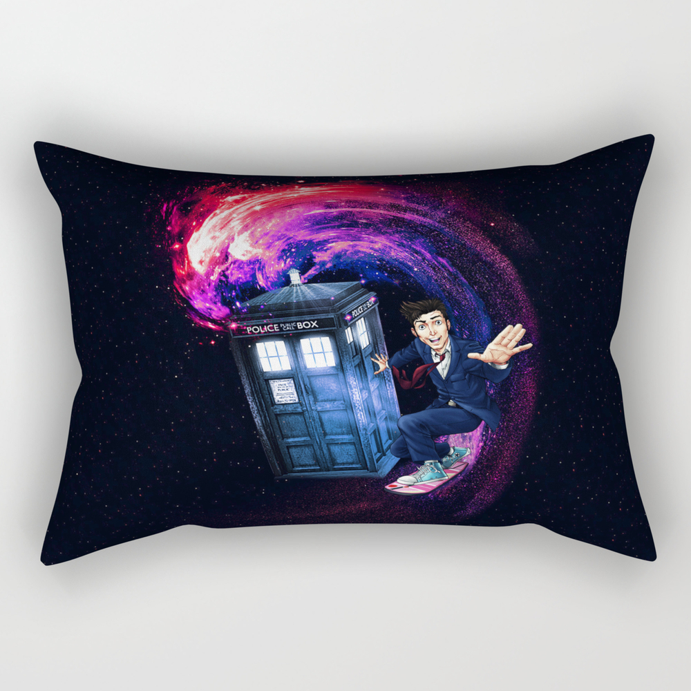 Doctor Who Space Surfing Rectangular Pillow RPW8935600
