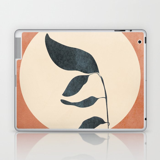 Summer Leaves Laptop & iPad Skin